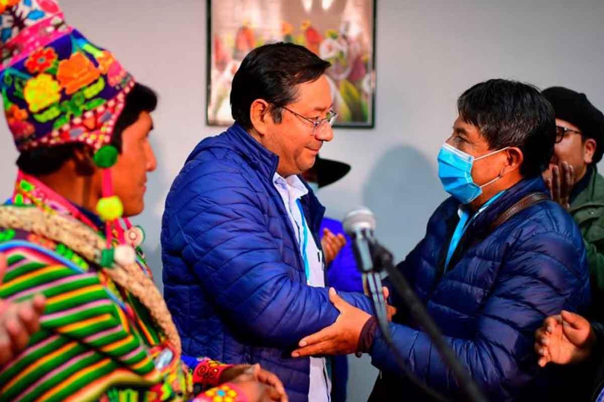 luis arce elecciones bolivia 2020